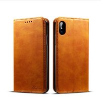 For Apple iPhone 8 purses water resistant - Leather Wallet Case For IPhone Plus X Money Purse Case For Samsung S9 S9 Case Cover