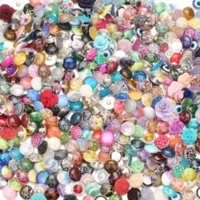 Wholesale mixed resin food - 50pcs lot Mixed Style Snap Jewelry Colorful Crystal Round 18mm Resin Snap Buttons fit Snap Bracelet Bangles