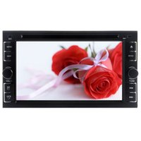 Wholesale analog stereo - 6.2'' Double 2DIN Car DVD Player radio Stereo Rearview USB SD Bluetooth FM Radio Aux USB SD Autoradio Stereo Analog TV+Free Camera
