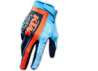 Wholesale blue cycle gloves online - HOT KTM Tour de France Cycling Gloves racing TEAM gloves Bike bicycles gloves with Gel pads