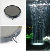 Wholesale fishing aerator - 10cm 13cm 20cm Aquarium Ceramic Disc Airstone Diffuser Koi Fish Tank Air Bubble Stones Aerator Pump Accessories