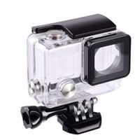Wholesale gopro protective case for sale - Group buy Suptig For Gopro Waterproof Housing Case For Gopro hero Hero3 Hero Underwater Protective Box For Go pro Accessories