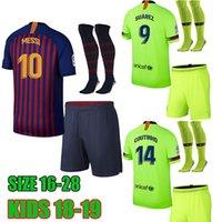 Wholesale new arrival shorts - Kids 18 19 football shirt 2018 2019 soccer jesrey 18 19 child Camisa de futebol new arrival 18 19 Camiseta de futbol maillot de foot