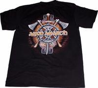 metal clássico camisetas venda por atacado-Amon Amarth Camiseta Música Hard Classic Rock Metal Morte Thrash Pesado Preto