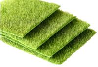 ingrosso tappeto erboso artificiale-Nuovo micro paesaggio decorazione fai da te mini fata giardino simulazione piante artificiale finto muschio decorativo prato tappeto erboso erba verde