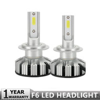 PAMPSEE New Upgrade Mini Canbus H4 H7 Car LED Headlight Kit 50W 10000LM Set H1 H11 9005 9006 6000K Bulbs Car Accessories