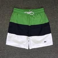 maillots de bain pour garçons achat en gros de-Pantalons d'été pour garçons Nouveaux maillots de bain pour hommes Shorts de surf Bermuda Masculina Shorts de surf Shorts de bain pour hommes Maillots de bain Short de plage Elastic.