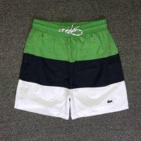 erkek pansiyon şort toptan satış-Yaz erkek pantolon Yeni erkek mayo Kurulu Şort Bermuda Masculina Boardshorts Erkekler Mayo Plaj Kısa Elastik Sörf Yüzmek Şort.