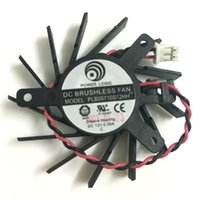 Wholesale Graphics Cards Ati - Power Logic PLB05710S12HH 50MM DC 12V 0.3A VGA Card Fan Cooler ATI Radeon HD5550 5570 5670 V4800