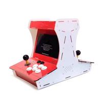 jogo duplo venda por atacado-Hdmi Handheld game console dupla balancim arcade máquina de jogo 3d 2255 jogos de vídeo tv player trabalho descompressão brinquedo