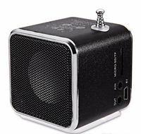 Wholesale New Portable Stereo Radio - New type portable Mini Speaker TD-V26 HiFi Stereo Audio Speakers FM Radio TF U Disk Slot Multi-Speaker Digital Sound Box Mp3 Music Player