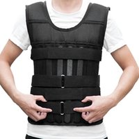 Wholesale exercise equipment weights resale online - 10kg kg kgLoading Weighted Vest For Boxing Training Equipment Adjustable Exercise Black Jacket Swat Sanda Sparring Protect