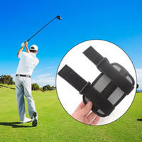 Wholesale golf swing practice tools for sale - Golf Swing Training Aids Oxford Fabric Elbow Correction Right Left Hand Straight Practice Brace Corrector Support Tool Drop Ship