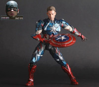Wholesale Action Figure Avengers Infinity War Part I II Captain America Crazy Toys PVC cm gift Toys doll Collectible Model anime