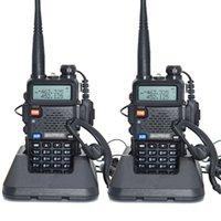 vhf radio uv 5r оптовых-УФ-5r высокой мощности версия trile power baofeng real 8 Вт для двухстороннего радио УКВ УВЧ двухдиапазонный портативный радио walkie talkie uv 5r