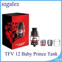 Wholesale baby king - TFV12 Baby Prince Tank ecigs 4.5ml Baby Beast King with V8 Baby Q4 T12 Mesh Coils TFV12 prince Tank 0266207-1
