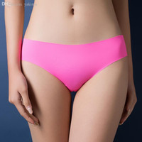 Wholesale red ruffle panties for sale - Group buy Special Offer New seamless Top DuPont Fabric Ultra thin Comfort No trace Women Underwear Panties Briefs