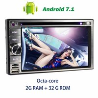Wholesale Computers Chargers - On-board computer car Radio Stereo Octa-core Android 7.1 in Dash GPS Navigation 6.2'' Car DVD Player Headunit Digital TV,DVR,CAMER