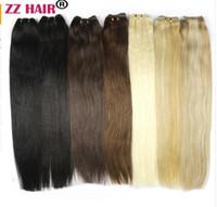 extensão de trama de cabelo máquina de tecelagem venda por atacado-100 g / pçs 16
