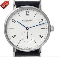 ingrosso la migliore marca orologi per le donne-AAA + Best-Seller di marca NOMOS quadrante digitale uomini e orologi moda femminile popolare metal mesh banda giornaliera impermeabile orologio al quarzo migliore regalo