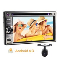 Wholesale mp4 touch screen 16gb - Eincar HD 6.2'' Multi-Touchscreen 2Din Android 6.0 Stereo System Car Navigation Player Quad core 16Gb Car DVD Player Autoradio Bluetooth GPS
