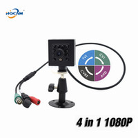 Wholesale osd mini camera resale online - HQCAM Mini IR Vehicle Camera P IN AHD CVI TVI CVBS Camera Infrared Night Vision Indoor Security OSD DIP Switch IMX323