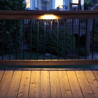 luzes à prova de água venda por atacado-AC DC 12 V LEVOU Passo Deck Luz de Parede De Retenção À Prova D 'Água Ao Ar Livre Jardim Hardscape Paisagem escadas piso laminado iluminação do terraço