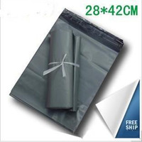 Wholesale courier bags - 28*42cm Poly Self-seal Self Adhesive Express Shipping Bags Courier Mailing Plastic Bags Envelope Courier Post Postal Mailer Bags