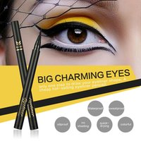 Wholesale quick control - New China Brand HUAMIANLI Eyeliner Pencil 2 colors Black Dark Brown waterproof Thickness Control Eye liner High quality DHL free shipping