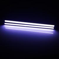 ingrosso casa luminosa-15.5cm LED Alloggiamento in alluminio COB Car DRL Super Bright Daytime Running lights Accessori auto Driving Fog Lamps Car Styling