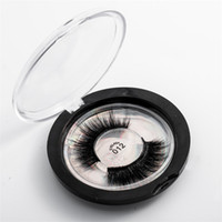 Wholesale silk eyelashes resale online - IN STOCK Styles Selectable D Faux Mink Eyelashes OEM custom private Logo Acceptable D Silk Protein Lashes Cruelty Free Eye Lashes