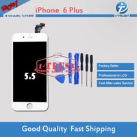 Wholesale Free Tests - Brand New LCD Display For iphone 6 Plus LCD Digitizer Grade Quality LCD Display 100% Tested Repair Replacement Parts With Free DHL Shipping