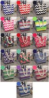 Wholesale wholesale canvas bucket - New Fashion Printing Female Canvas Bag Shoulder Bag Korean Wild Large Capacity Simple Wild Beach Bag