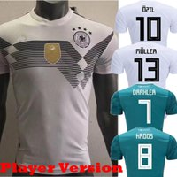 Wholesale Cup Fan - 2018 Player Version Germany Kroos World Cup 2019 Soccer jerseys 18 19 Germany Fans Model DRAXLER OZIL REUS GOTZE WERNER Football Shirts