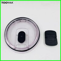 Wholesale Cover For Cups - Plastic Leakproof Magnetic Lids for Large Capacity Mugs Spillproof Drinkware Lids Covers for Stainess Steel Vacumm Cups