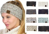 Wholesale fashion accessories for sale - 21 colors lady Hair accessories fashion lovely hairband free ship knitted