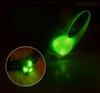 luces colgantes para perros al por mayor-Duradera Tag Pet Luz LED fácil de usar silicona luminosa colgantes brillan en la oscuridad etiquetas de perro nueva llegada 4 8gl BB