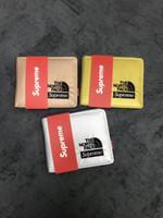 porte-monnaie métallique achat en gros de-New designer Tote wallet 18SS Metallic wallet Bag Men Women Bags Designer Porte-monnaie Pochette