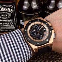 esportes de cerâmica venda por atacado-Top Quality AAA Cerâmica Bezel Black Dial Data Automática 40mm Sapphire Sport Masculina de Borracha De Couro Aço Inoxidável Quartz Timekeep Impermeável