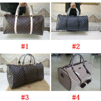 Wholesale suitcase online - and retail Classical style PU Leather travel bags Suitcases Luggages M41414 style for choose