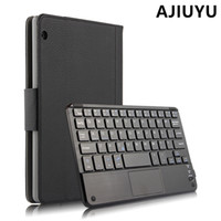 Wholesale Huawei Tablet Casing - Case For HUAWEI MediaPad T3 10 Wireless Bluetooth Keyboard Case Cover AGS-W09 AGS-L09 L03 Tablet Honor Play Pad2 T310 9.6 inch