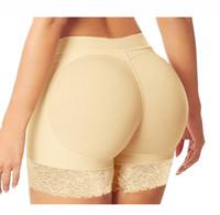 culotte chaude shaper achat en gros de-Hot Shaper Sexy Boyshort Culotte Femme Faux Cul Sous-Vêtements Push Up Culotte Rembourrée Fesses Shaper Fesses Lifter Hip Enhancer