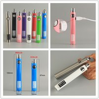 Wholesale china ego atomizers resale online - UGO V EVOD Passthrough Battery Thread Micro USB mah E Cig Vape Batteries fit ego t atomizer China Direct