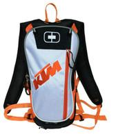 motorrad-rennpaket großhandel-Motorrad Motocross KTM Trinkrucksack neue Stil Taschen Reisetaschen Rennpakete Fahrradhelm Pack BB-KTM-06 treavel Wasser Rucksack