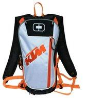 motosiklet seyahat çantaları sırt çantaları toptan satış-Motosiklet Motokros KTM Hidrasyon paketi yeni stil çanta Seyahat çantaları yarış paketleri Bisiklet kask paketi BB-KTM-06 treavel su sırt çantası