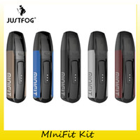 batería justfog al por mayor-Auténtico Justfog Minifit Pod Kit con 370mAh batería Vape Mod para Original 1.5 ml Minifit Pods Tank 100% Genuino 2245023