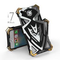 чехол для мобильного телефона оптовых-I7 Plus Case Оригинальный Дизайн Панк Броня Heavy Dust Metal Алюминий Тор Ironman Телефон Case Обложка Для Iphone6 7 Iphone 6 7 Plus