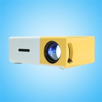 Wholesale video games media for sale - Group buy LCD Portable Projector HD Home Media Player MINI LED Projector Video Games TV Home Theatre Movie Support HDMI AV SD