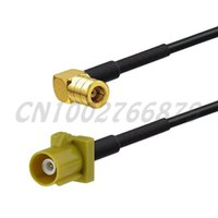 USA-CA RG174 GT5-1S to SMB MALE Coaxial RF Pigtail Cable