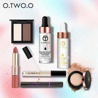 Wholesale Christmas Mascara - O.TWO.O Multi-functional cosmetic Makeup set, thick waterproof mascara,Segregation frost,Lip gloss,Eye Makeup,Face Oil Anti-aging Beauty